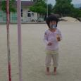 近所の幼稚園で